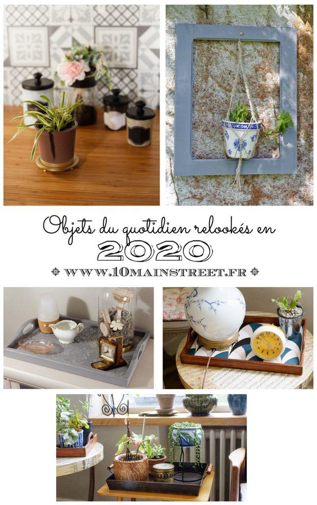 Les objets du quotidien relookés en 2020 #upcycling #relooking