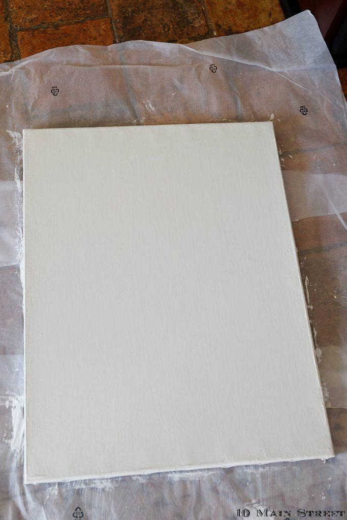 Toile préparée pour l'aquarelle simplissime