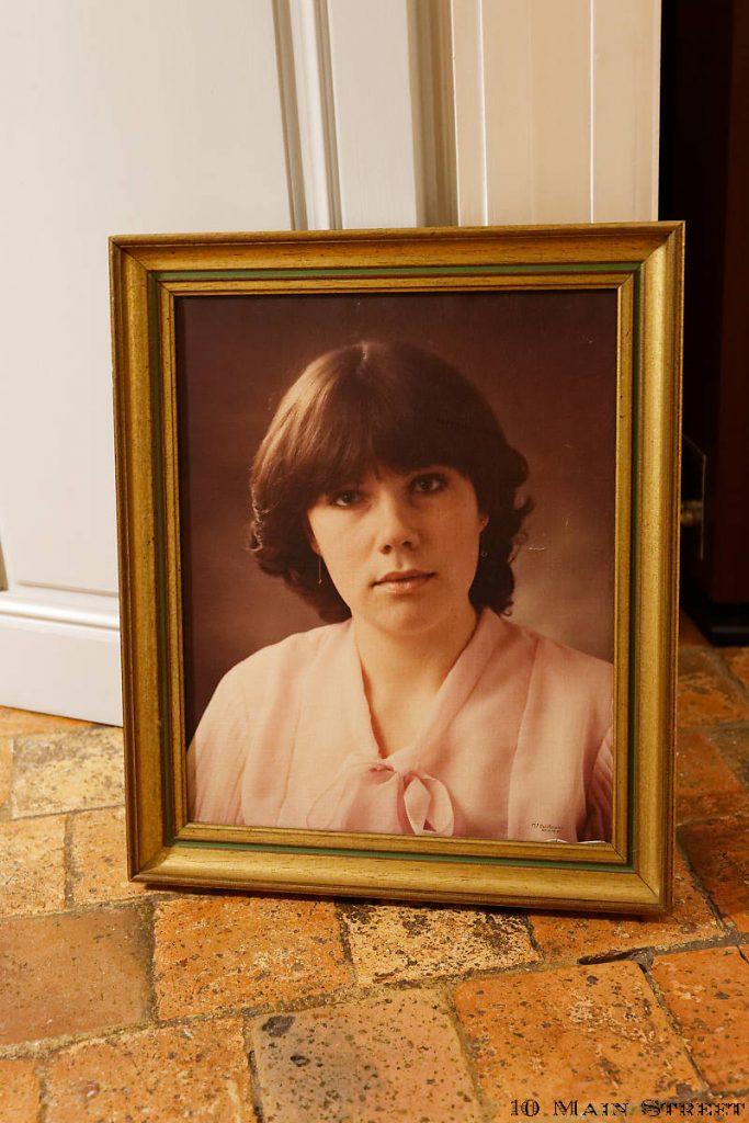 Portrait vintage imprimé sur toile