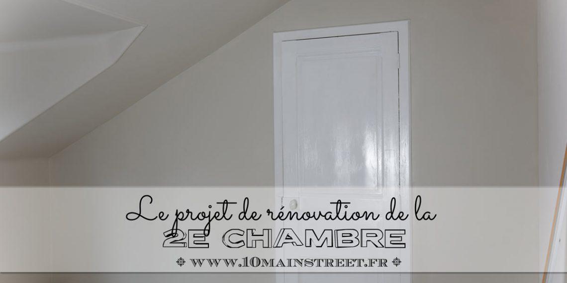 2e chambre : projet de rénovation