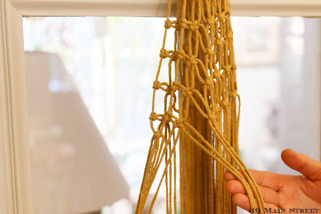 Réalisation de nœuds plats alternés