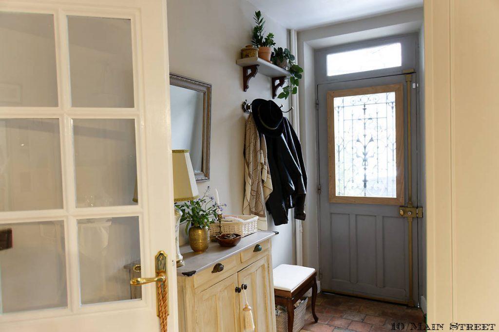 Peinture des portes en blanc