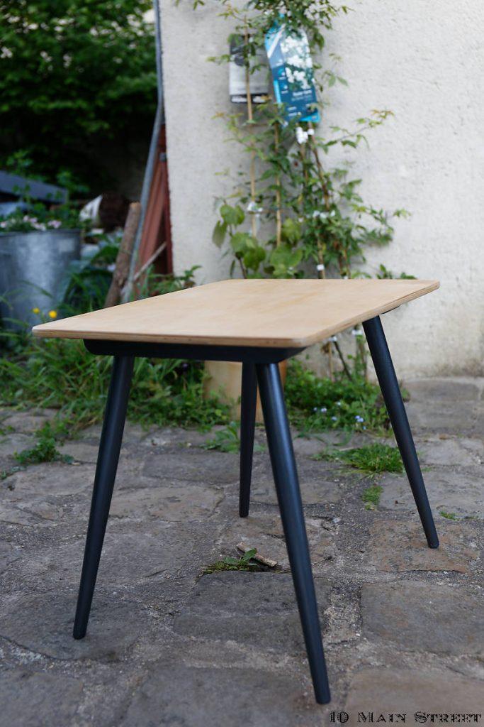 Petite table vintage relookée