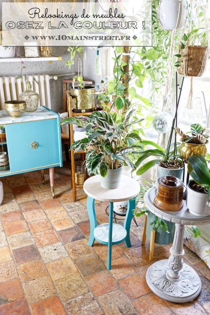 Relookings colorés : osez opter pour le bleu, le vert ou le rose pour vos meubles !
