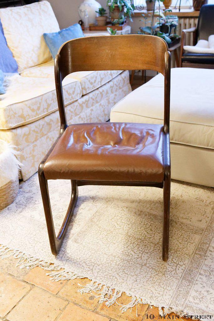 chaise traîneau Baumann