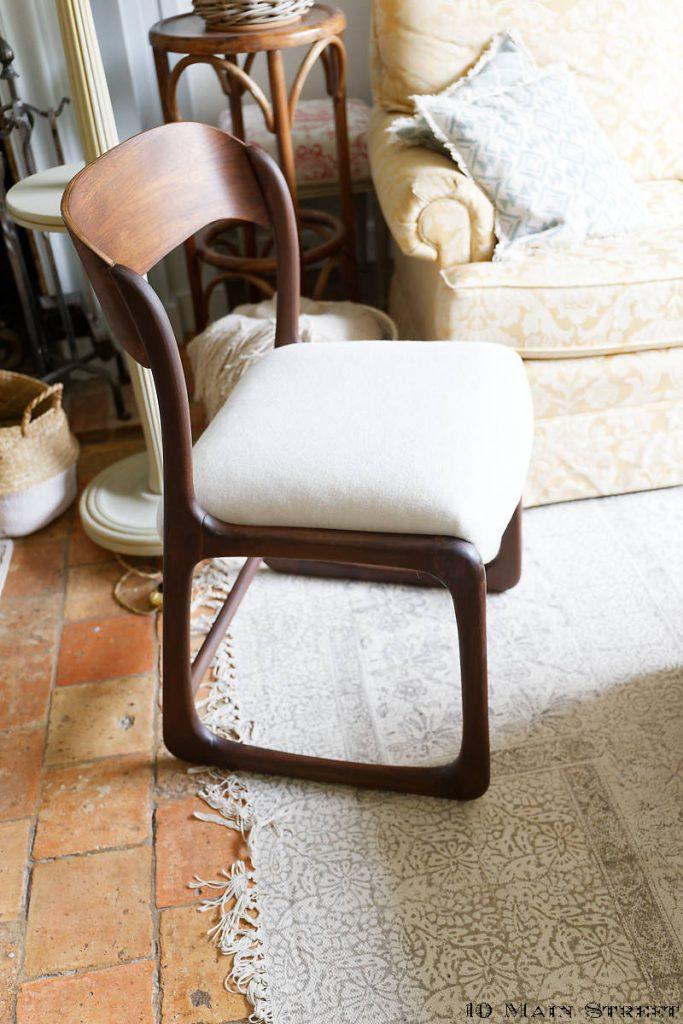 Chaise traîneau Baumann restaurée