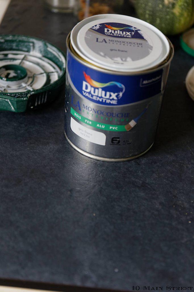 Peinture dulux monocouche extérieure à l'eau