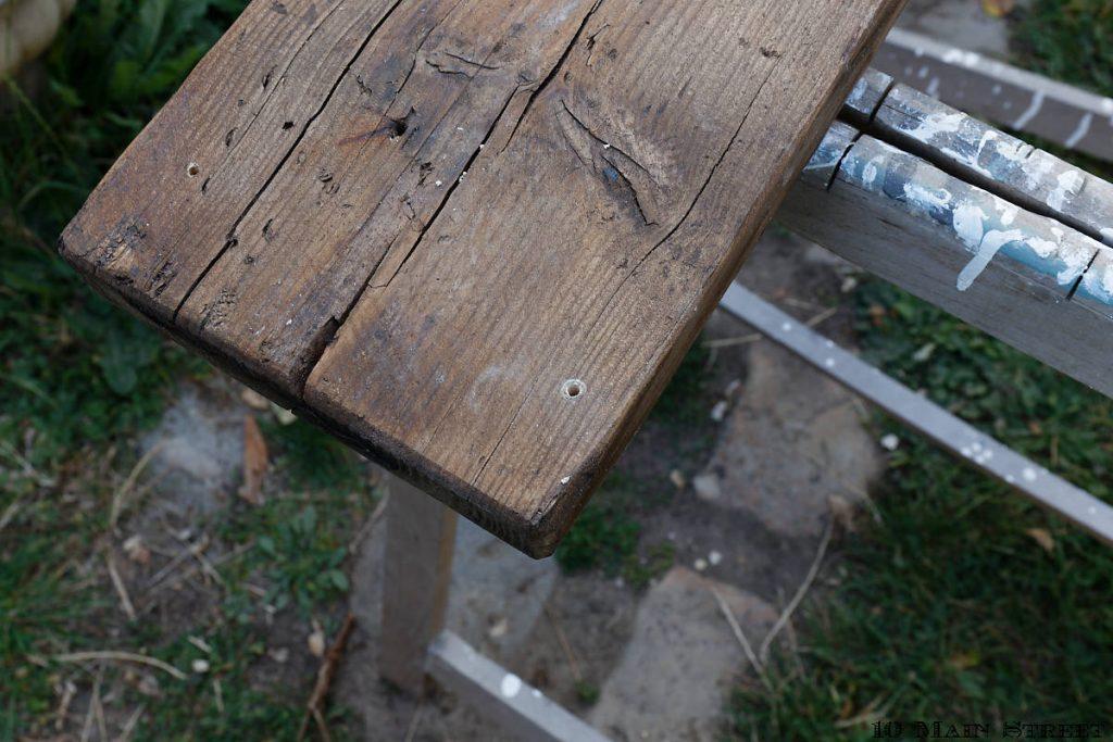 Perçage des coins de la planche