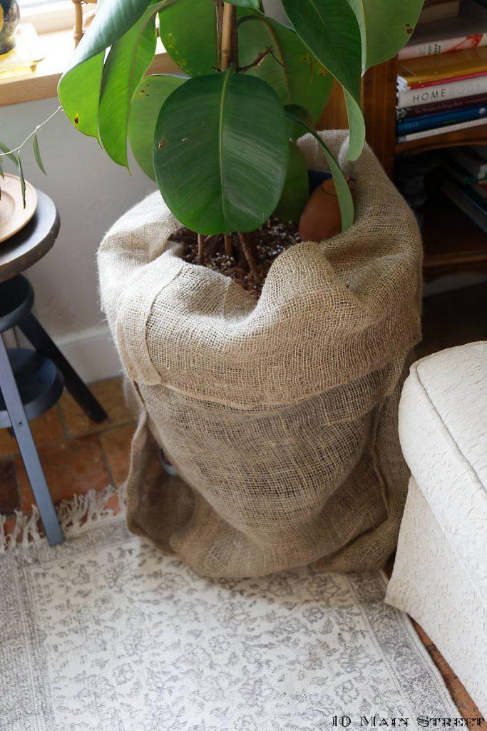 Essais d'installation de la jupe de pot