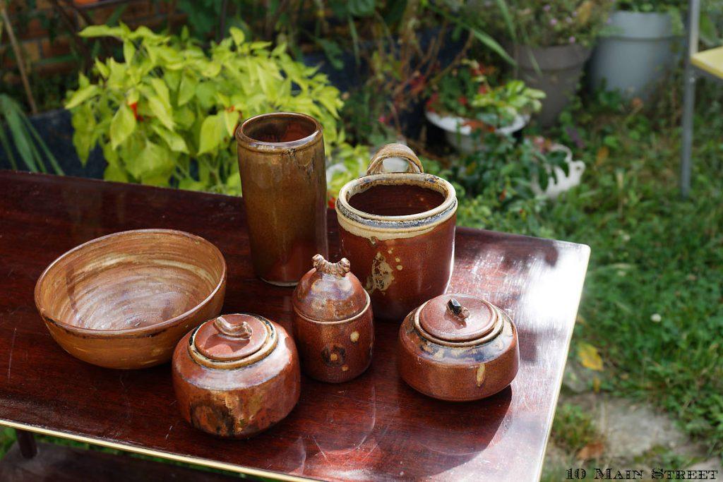Shopping estival : poterie artisanale